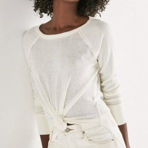 3/$60 Lucky Brand Rib Mix Butter Soft Thermal Tee